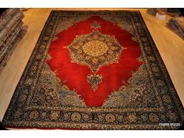 fine quality persian handmade knotted red background wool area rug within the incredible red persian rug