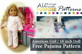 Free Printable Doll Clothes Patterns For 18 Inch Dolls Interesting Ideas