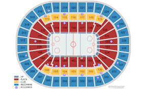 St Louis Blues Seating Chart Enterprise Center St Louis Tickets Schedule Seating