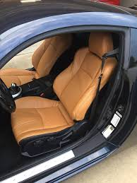 installed burnt orange leather seats today nissan 350z forum nissan 370z tech forums
