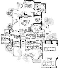 49 best house plans images on pinterest architecture, house Four Bedroom 3 Bath House Plans floor plans aflfpw09997 1 story adobe home with 4 bedrooms, 3 bathrooms and 2,982 four bedroom 3 bath house plans