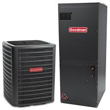 goodman ac unit. 4 ton goodman 16 seer central air conditioner heat pump multi-position system ac unit
