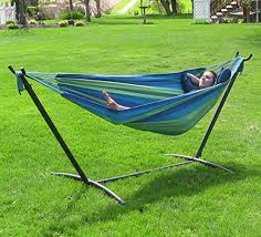steel hammock stand. Fine Hammock Sunnydaze 9 Ft Steel Hammock Stand With Double Brazilian Combo   Beach Oasis Throughout