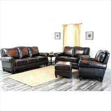 living furniture reviews 4 piece hand rubbed leather sofa set in walnut 3 2 abbyson for living complaints furniture ew ews leather abbyson reviews