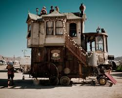 Image result for steampunk house