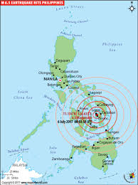 Eyewitness films water lapping in koi tank during tremor in southern philippines. Philippines Earthquake Map Places Affected By Earthquake In Philippines