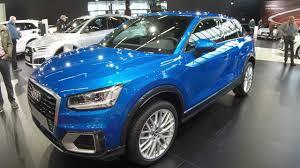 Q2 Design Audi Q2 Design Arablue Crystal Effect Colour Walkaround Interior Model 2017