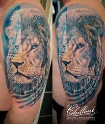 татуировка лев значение фото Chillout Tattoo Workshop