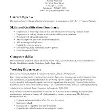 Entry Level Data Analyst Resume Gorgeous Entry Level Analyst Resume Sample Data Analyst Resume Data Analyst