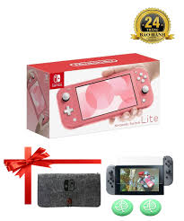 Nintendo Switch Console Lite Coral - TheGioiGames.VN