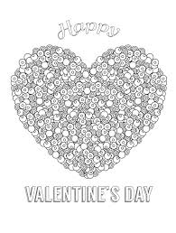 Small Picture Coloring Pages Free Printable Valentines Adult Coloring Pages