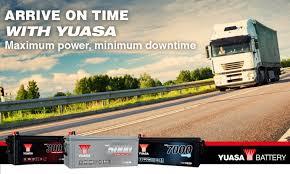 Commercial Vehicles Yuasa