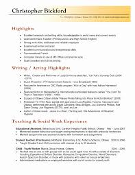 Sample Education Resume Sample Resumes for Teachers New Teacher Resume Sample Plete 82
