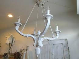 distressed white wood chandelier distressed white wood chandelier images french shabby distressed white wood chandelier