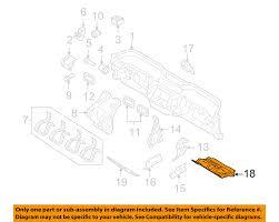 volvo oem 08 13 c30 instrument panel dash lower panel 30672212