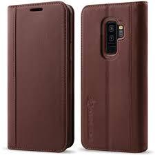 galaxy s9 plus case wallet folio auneos samsung galaxy s9 plus wallet case genuine leather samsung s9 plus leather case 3d full protection folio flip