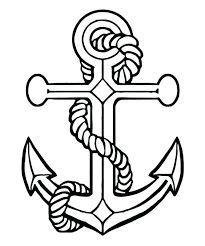 best of hope anchor coloring pages design printable