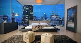 Matching Bedroom Furniture Modloft Worth Platform Bed W 2 Matching Nightstands In Wenge And