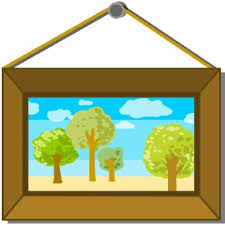 Framed Picture Clip Art Clipart Panda Free Clipart Images