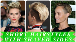 20 Popular Ideas For Womens Short Shaved Sides Hairstyles 2018 Youtube
