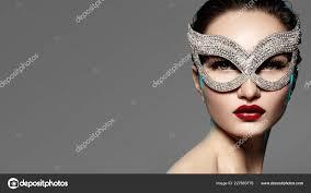 beautiful model fashion lips makeup