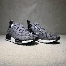 gucci x adidas nmd. gucci x adidas nmd r1 grey real boost nmd