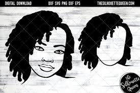 You can copy, modify, distribute and perform the work, even for commercial purposes, all. African American Svg The Silhouette Queen Design Bundles