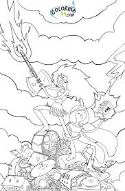 Small Picture Adventure Time Coloring Pages PrintableTimePrintable Coloring