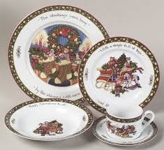 Christmas Dinnerware Patterns