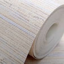 plain modern brown beige grasscloth wallpaper wrinkled vinyl textured straw wall paper roll for hotel bedroom