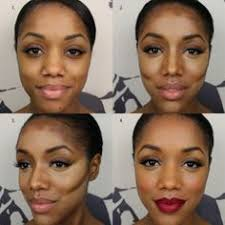incredible contour and highlight tutorial for dark skin