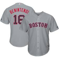 Jersey Gray Stars Cool 2018 Sox Stripes Player Base Red Majestic Men's amp; Boston Benintendi Andrew fbfaedbcbdcc|New Harm Replace For Packers QB Aaron Rodgers