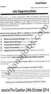 Supply Chain Management Job Description Micro Franchising ManagerSupply Chain ManagerProcurement Analyst 5