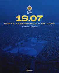 """Fenerbahçe Beko on Twitter: """"19.07 Dünya Fenerbahçeliler Günü kutlu olsun!  #YaşaFenerbahçe 💛💙… """""""