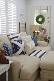 Patriotic Bedroom Patriotic Coastal Cottage Living Room