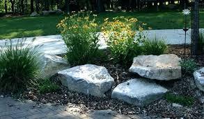 large garden rocks decorative personalized yard for landscape