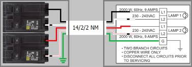electrical what ampacity circuit breaker would i need for an  14 2 2 wiring