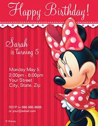 21 Minnie Mouse Invitation Templates Ai Psd Word Free
