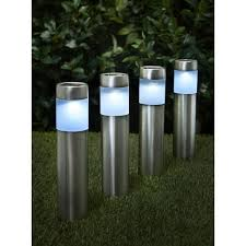 best solar garden lights. Wilko Garden Solar Lighting Posts 4pk Best Lights R