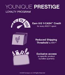 younique has announced a new program to rewards all loyal customers beginning september 1st the younique prestige loyalty program will reward any customer