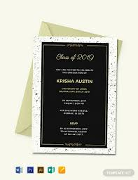 Graduation Announcements Template Free Graduation Announcement Invitation Template Word