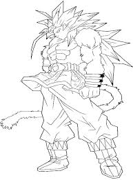 Goku Super Saiyan Coloring Pages Dragon Ball Z Coloring Pages Super
