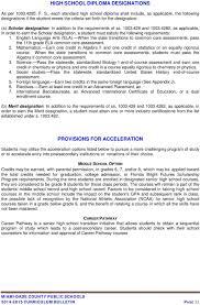 Merit Designation Miami Dade County Public Schools Curriculum Bulletin Pdf