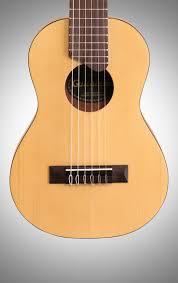 yamaha ukulele. yamaha gl1 guitalele ukulele guitar with gig bag new body straight front