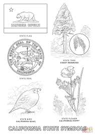 Small Picture California State Symbols coloring page Free Printable Coloring Pages