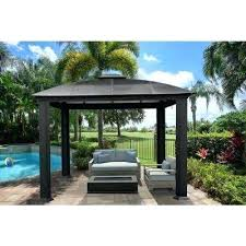 gazebo for deck paragon outdoor wood deck gazebo plans