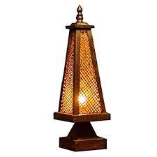 Alvndarling Tischlampe Thai Stil Bambus Bambus Bambus Lampe