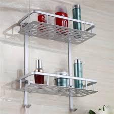 bathroom rack. aliexpresscom buy bathroom shelves space alumimum 123 tier home kitchen shower storage shelf caddy basket rack wall mounted bath shelve from n