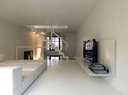 Interior And Exterior Design For Minimalist Home Architecture Ideas:  Renovated Industrial Factory Into Minimalist Home