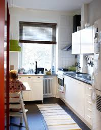 Delightful Images Of Kitchen Decoration Using Compact Kitchen Cabinet :  Delightful Small Kitchen Decoration Using Square